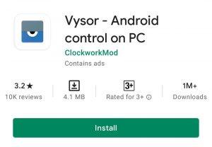 vysor App