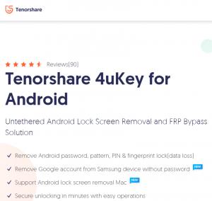 Tenorshare Android Unlocker