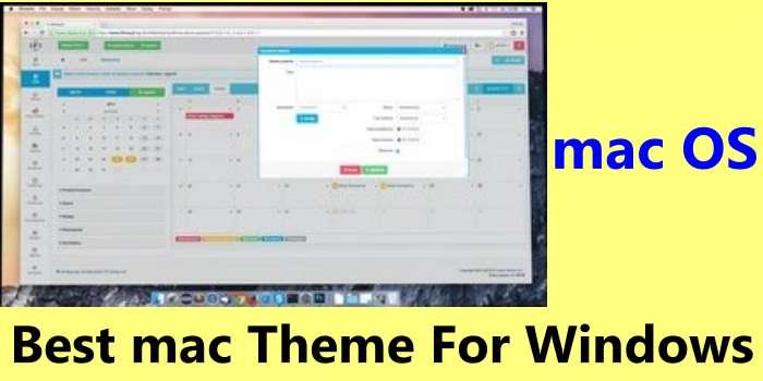 Best mac Theme For Windows