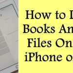 How to Delete Books And PDF Files On Your iPhone or iPad