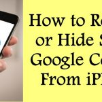 How to Remove or Hide Select Google Contacts From iPhone