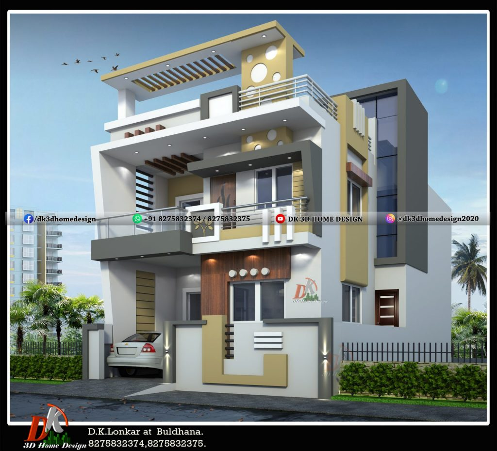 3d images of indian houses