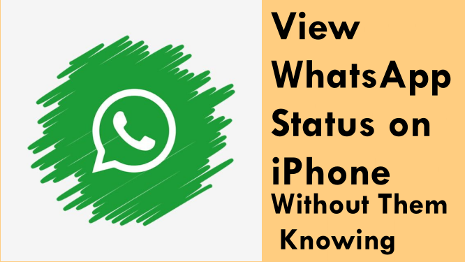 View WhatsApp Status on iPhone Without Them Knowing
